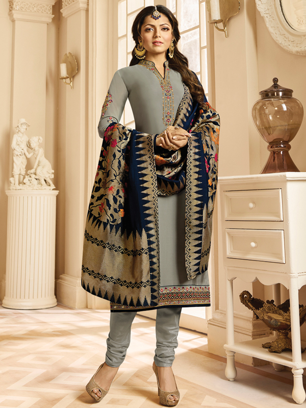 ethnic wear: Churidar Suit