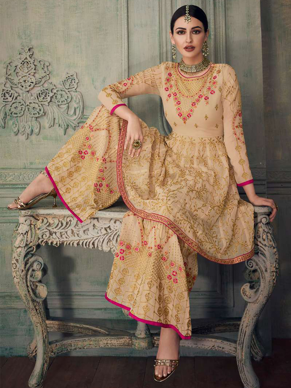 designer Sharara Suit collection
