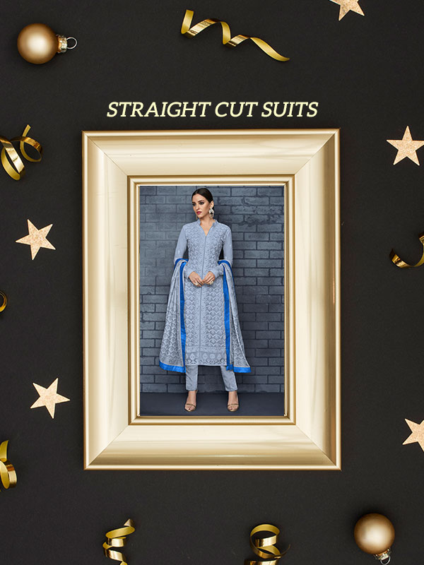 straight cut suits